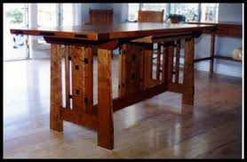 Perfect Craftsman Style Dining Table Heart Of Oak Workshop Authentic Mission A Limbert Art Craft Inspired