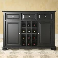 Get Quotations Black Dining Room Buffet Sideboard Cabinet With Wine Storage