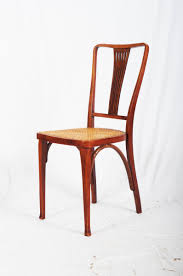 chaises thonet antique nouveau beech and thonet chairs from thonet for