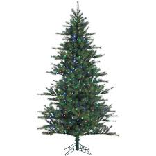 Christmas Tree 75 Pre Lit by Artificial Christmas Trees Christmas Trees The Home Depot