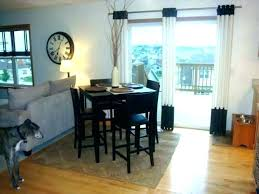 Patio Door Window Treatments Brilliant French Curtains And Doors