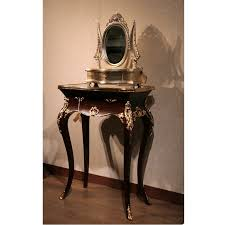 Small Bedroom Vanity by Small Vanity Black Gold Indonesian French Furniture Teak