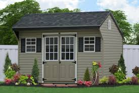 12x20 Shed Material List by Outdoor Vinyl Sided Storage Sheds Maintenance Free