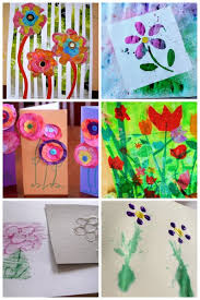 Flower Art Projects For Kids To Make
