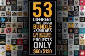 t shirt design big bundle illustrations creative market