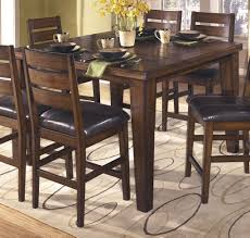 Ashley Furniture Dining Room Sets Adorable Ideas Larchmont Counter Butterfly Extension Table