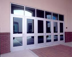 commercial storefront aluminum swing door entrance systems