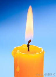 Taper candles are traditional tall and thin candles