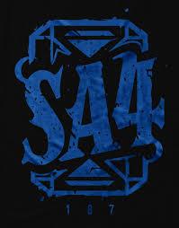 SA4 Blue Limited Edition T Shirt – 187 Strassenbande Shop