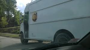 Behold, The Rare Albino UPS Truck Spotted In The Wild. : Pics