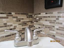 Blog - Peel And Stick Smart Tiles On A Budget | Smart Tiles Small Bathroom Sink With Backsplash Lovely Round Glass Tile Blog Peel And Stick Smart Tiles On A Budget Shower Tile Backsplash Ideas Shower Ideas To Adorn Your Unique Vanity Stone Ceramic Formidable Panels Design Photos As Twepics Inexpensive In Kitchen Provides A Feeling Of Simple Beauty With Casual Home Decor Penny Round Tiles White Subway Accent Our House Spray Paint Youtube 480360 Attachment Decor Awesome For Decoration