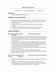 Personal Assistant Resume New Medical Assembly Job Description For Fresh Inspirational Of