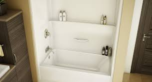 shower lovable one piece tub and shower unit home depot splendid