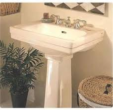 Kohler Bancroft Single Hole Pedestal Sink by Kohler Memoirs Pedestal Sink And Toto Promenade Toilet Bathroom