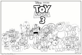 Top Coloriage Toy Story Images For Pinterest Tattoos
