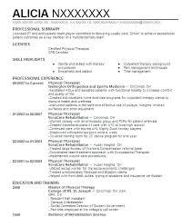 Massage Therapist Resume Samples Combined With Example Inspirational Physical Therapy
