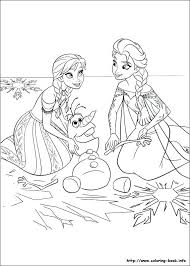 Full Image For Free Printable Frozen Characters Coloring Pages Olaf Pictures