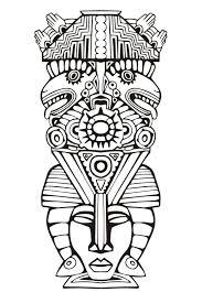 Tribal Pattern Stencil Buscar Con Google Bebé Coloriage