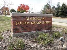Algonquin Police Disorderly Conduct Arrest at Post fice