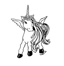 24 Cute Unicorn Coloring Pages 5912 Via Freecoloringpagescouk