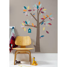stickers repositionnables chambre bébé sticker mural arbre patternology mamas and papas stickers
