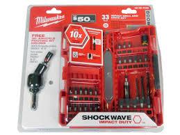 Milwaukee Tool United Kingdom Power by Milwaukee 48 32 4426 33 Pc Bit Set With Swivel Ebay