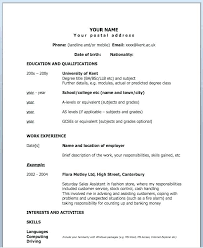 1 Page Resume Template For Pages How To Write A One