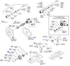 price pfister series 08 09 single handle tub shower parts