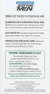 Ver Halloween 1 Online Castellano by Just For Men Mustache U0026 Beard Brush In Color Gel M 45 Dark Brown