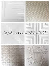 2x4 Suspended Ceiling Tiles by Styrofoam Ceiling Tiles On Sale Decorative Ceiling Tiles Sale