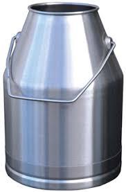 pot a lait inox pot a traire inox 30 l accessoires machines à traire alliance