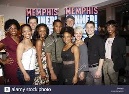 100 Cast Of Glass House Members The Second Anniversary Of The Broadway Musical Stock