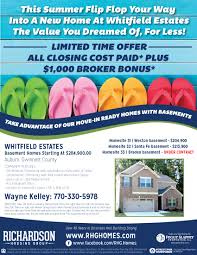 100 Flip Flop Homes This Summer Flipflop Your Way Into A New Home At Whitfield Estates