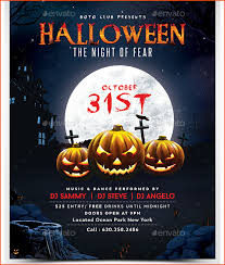 Free Halloween Flyer Templates by 7 Halloween Party Flyer Template Bookletemplate Org
