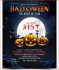 Free Halloween Invitation Templates Microsoft by 7 Halloween Party Flyer Template Bookletemplate Org