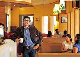 In The US 80 Of Coffee Is Drunk On Move India That Number Isnt More Than 20 K Ramakrishnan President Marketing Cafe Day