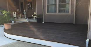 Bison Deck Supports Canada by Diy Curved Floating Deck Hometalk