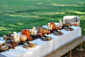 Outdoor Thanksgiving Table Decorations — The Home Design Outdoor