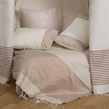 jetés de canapé de canapé et de fauteuil bodrum fouta futée