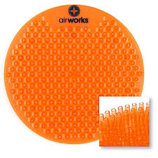 Floor Mounted Urinal Strainer by Urinal Screens And Mats Air Delights