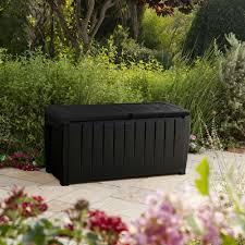 Keter Woodland Storage Box by Kentucky Plastic Garden Storage Box Departments Diy At B U0026q