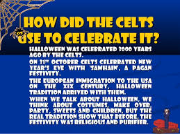 When And How Did Halloween by Presentation Halloween