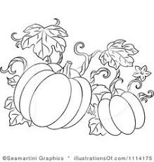 Pumpkin clipart doodle 3