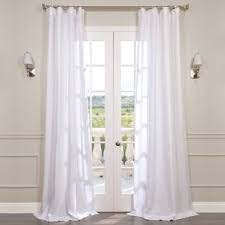 Joss And Main Curtains by White Curtains U0026 Drapes Joss U0026 Main
