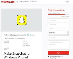 The petition is rapidly ting users votes