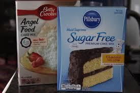 3 2 1 Cake with Sugar Free Cake Mix No Thanks to Cake