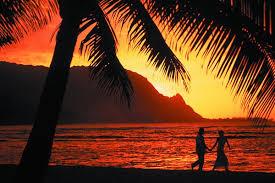 kauai visitors bureau sunset on kauai courtesy kauai visitors bureau sand in my suitcase