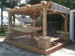 Weekly Winner #4 - Rockledge, FL #cedar #pergola Over Deck, Fit ... Living Room Enclosed Pergola Designs Stone Column Home Foundry Impressive Haing Outdoor Bed Wooden Material Beige Ropes Jamie Durie Garden Hammock Bed Design Garden Ideas Fire Pit And Fireplace Ideas Diy Network Made Makeovers Hammock From Arbor Image Courtesy Of Stuber Land Design Inc Best 25 On Pinterest Patio Backyard Keysindycom Modern Pa Choosing A Chair For Your 4 Homes With Pergolas Rose Gable Roof New Triangle Black Homemade