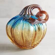 Glass Blown Pumpkins by Blue U0026 Amber Art Glass Pumpkins Pier 1 Imports