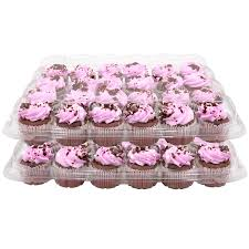 Get Quotations 24 Slots Cupcake Containers Holders